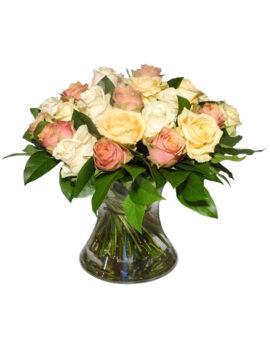 Romantisch boeket rozen