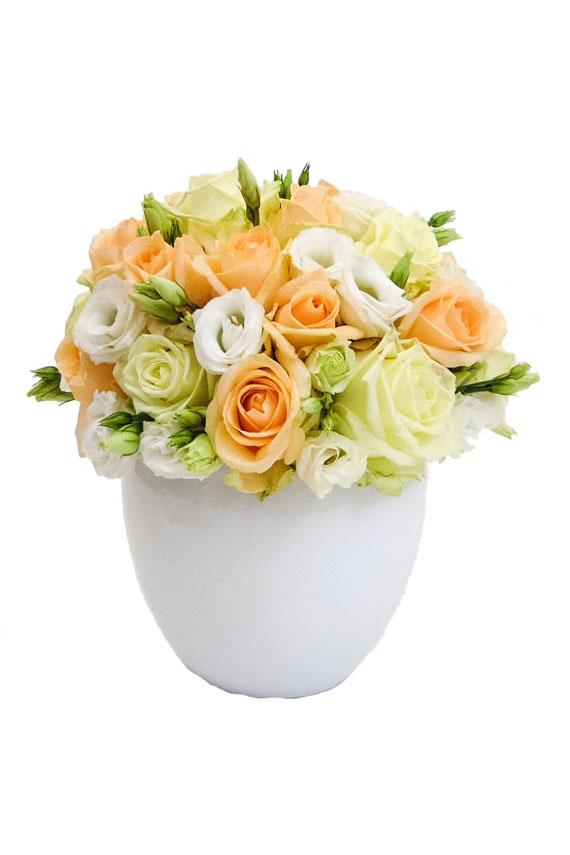 Zonnig bloemstuk