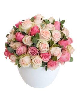 Bloemstuk rozen