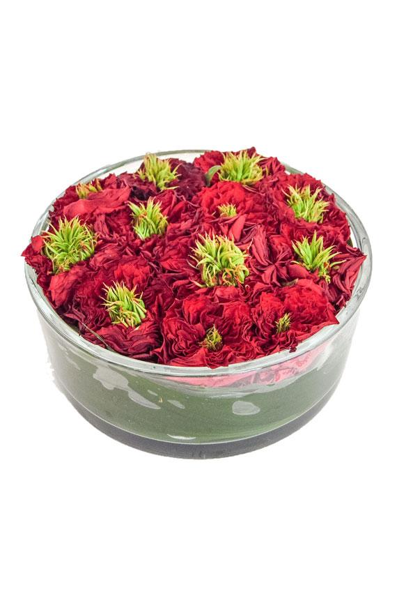 Rosa Ivanhoe bloemstuk