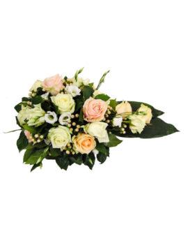 Rouwbloemstuk rozenvariatie