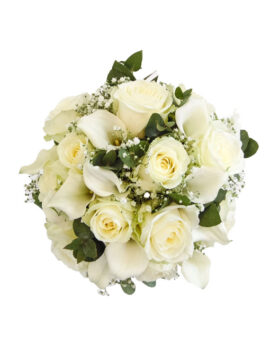 Bruidsboeket White Lover